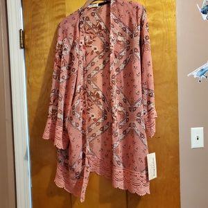 Rewind Kimono. Size L. NWT.